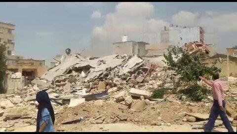 انفجار دو منزل مسکونی در جهرم ۶ مصدوم و یک فوتی برجای گذاشت