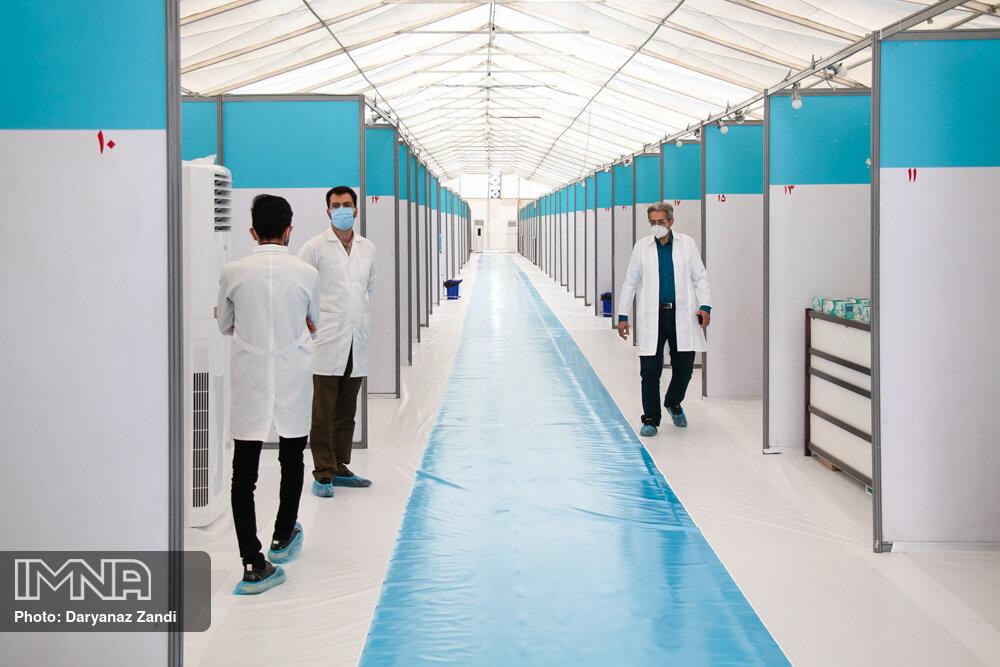 آغاز به کار ۵ بیمارستان صحرایی هلال احمر برای درمان بیماران کرونایی