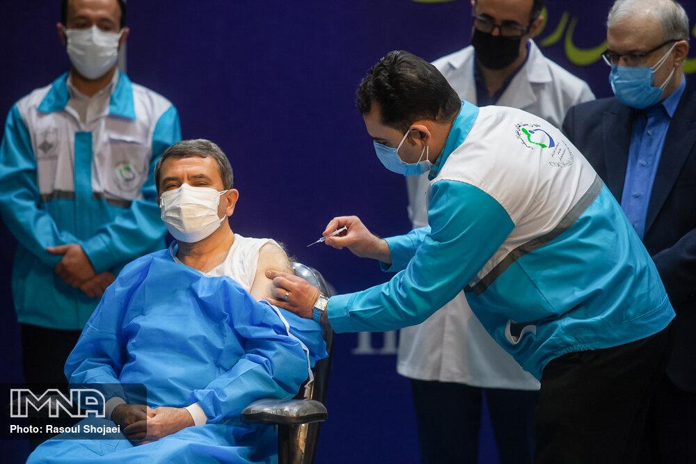 تزریق روزانه ۱۰۵ هزار واکسن کرونا در کشور