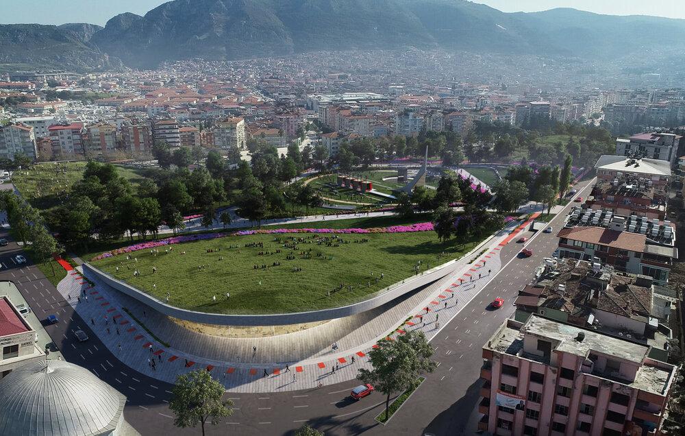 تبدیل استادیوم ورزشی متروکه به پارک در ترکیه