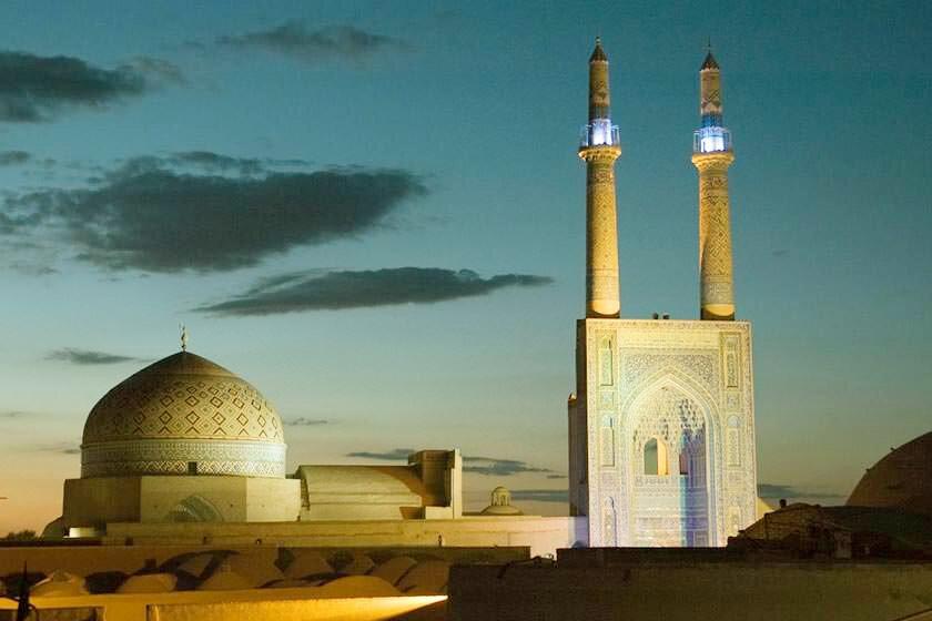زیباسازی شهر میراث جهانی با هنر فاخر یزد