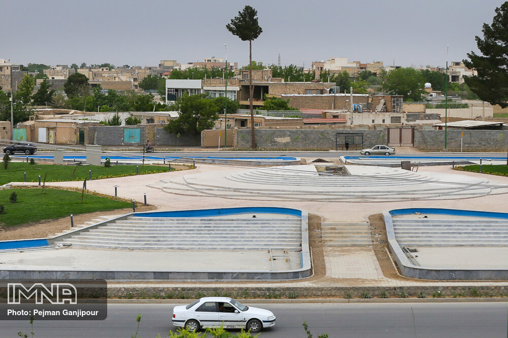 پیشرفت میدان شهدای هسته ای (پینارت) - اردیبهشت 1400