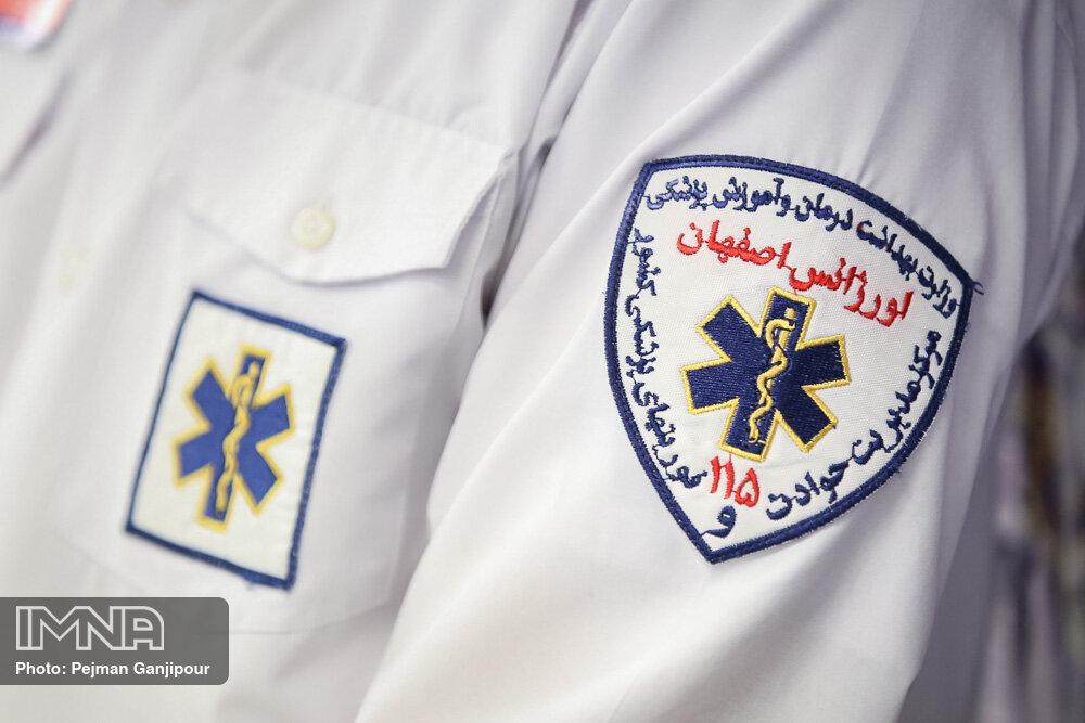 شهروندان برای واکسیناسیون سیار با اورژانس اصفهان تماس نگیرند