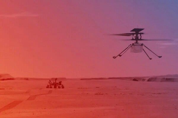 امروز چهارمین پرواز هلیکوپتر مریخ انجام میشود