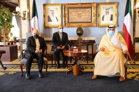 گزارش توییتری ظریف از سفرش به کویت