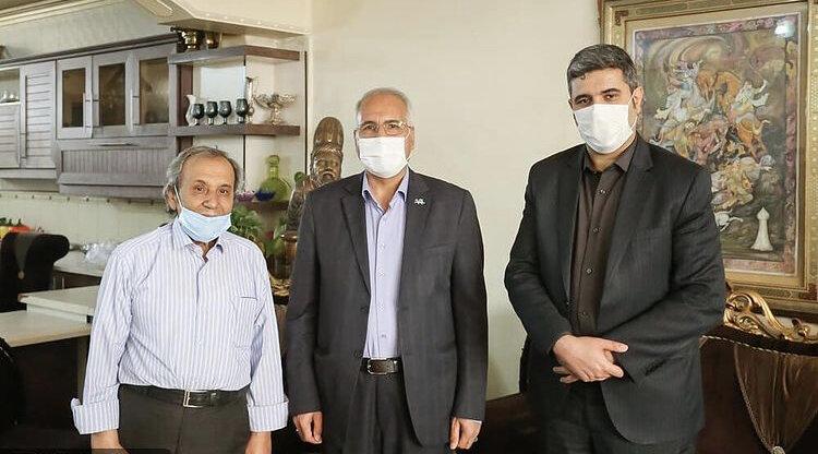 دیدار شهردار اصفهان با استاد سیدمهدی علمداری