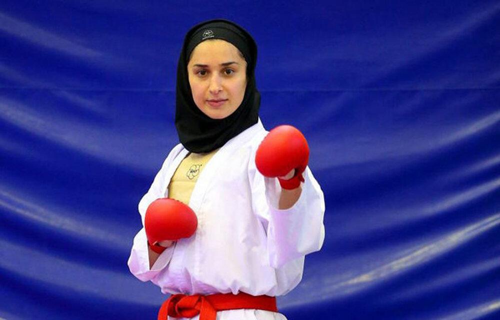 رزیتا علیپور به دیدار ردهبندی لیگ جهانی کاراته رسید