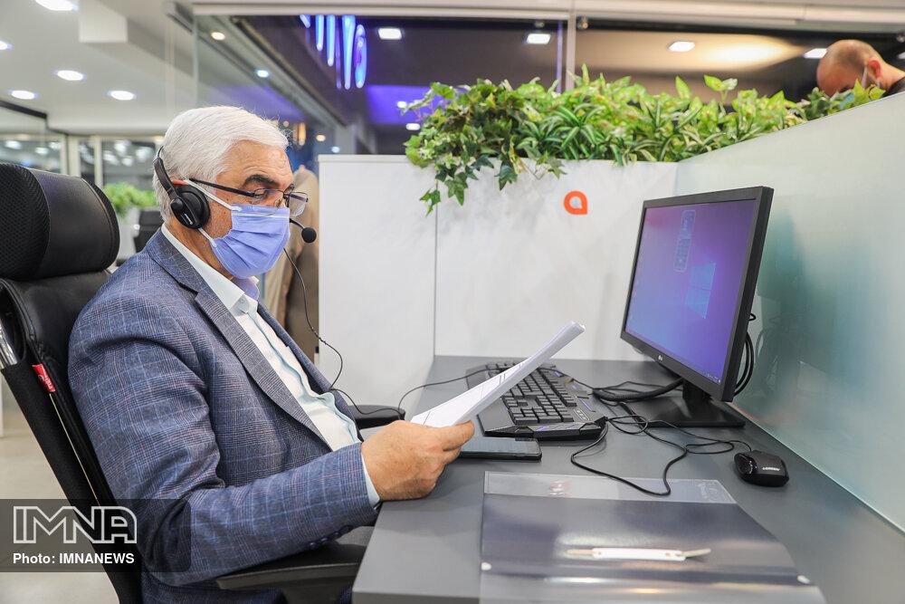 نوروزی: در شرایطی که امکان ملاقات حضوری نیست، ارتباط با شهروندان را حفظ کردیم