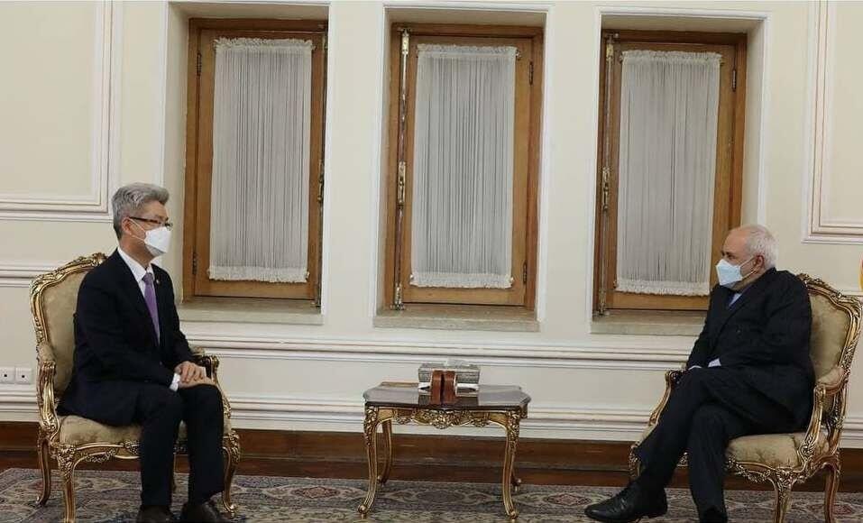 سفیر کره جنوبی در پایان دوره کاری خود با ظریف دیدار کرد