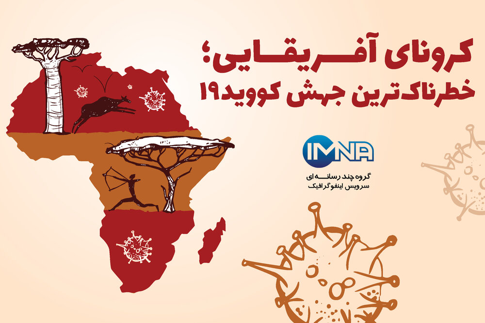 کرونای آفریقایی؛ خطرناکترین جهش کووید۱۹ /اینفوگرافیک