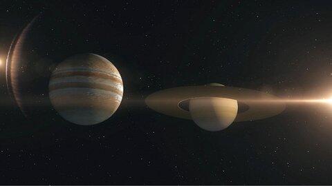 فردا مقارنه ماه و زحل را نظارهگر باشید