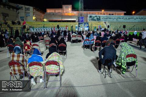 مراسم احیای شب بیست و یکم ماه رمضان در همدان