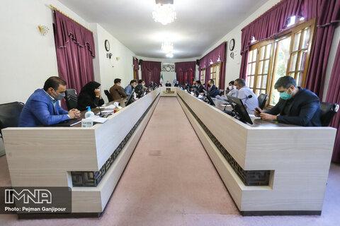 جلسه بررسی پیشرفت پروژه های عمرانی