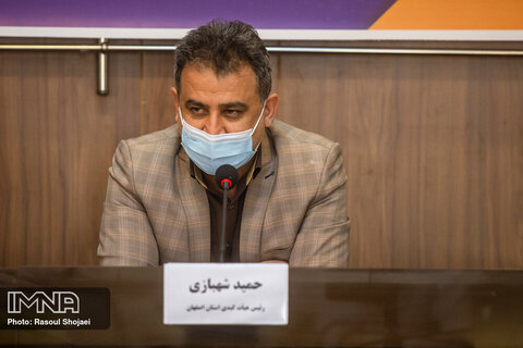 نشست خبری هیئت کبدی استان اصفهان