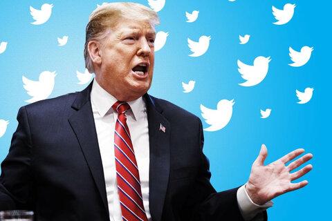 توئیتر دومین حساب دونالد ترامپ را هم بست