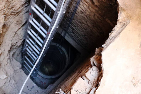 سقوط مرگبار اسب در چاه ۳۰ متری