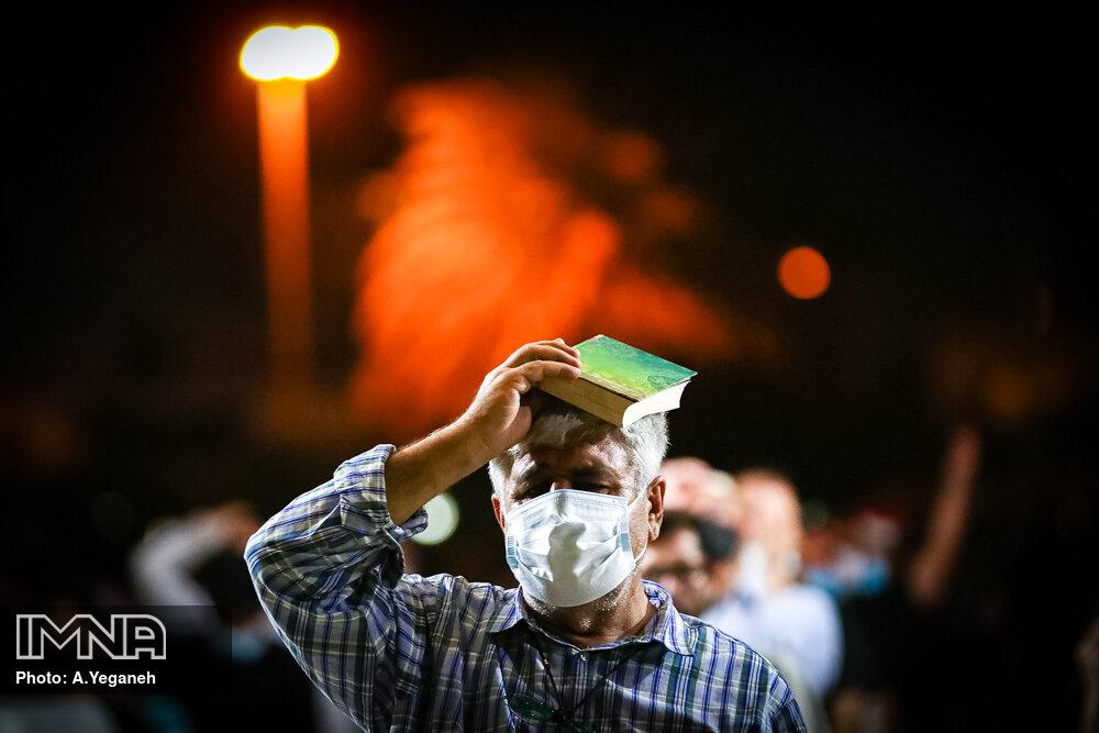 مراسم احیای شب بیست سوم ماه رمضان در کیش