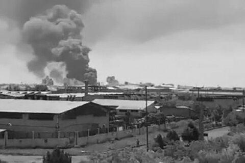 انفجار شرکت تولیدی شوینده در قزوین