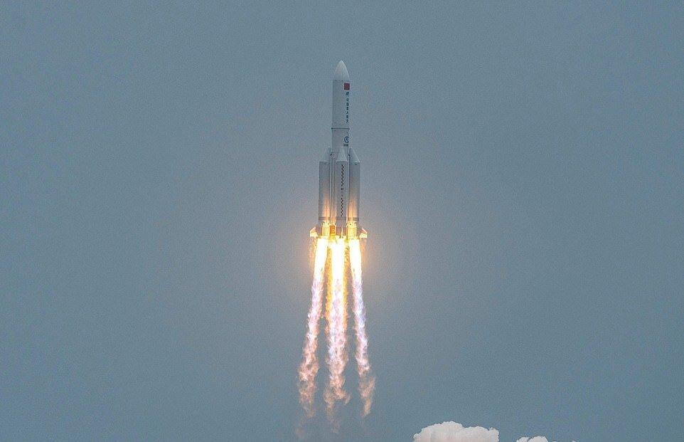 استفاده از موشکهای فضایی برای ارسال مهمات جنگی