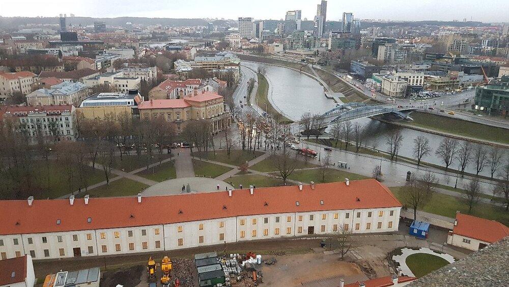 بازسازی خانه فرهنگ ویلنیوس برای حفظ تاریخ شهر