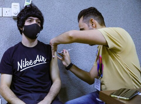 حریف تیم ملی فوتبال ایران واکسن کرونا زد