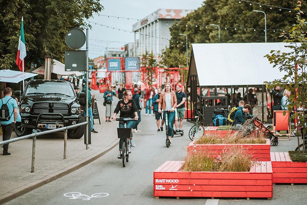 آغاز دوباره جنبش خیابانهای بدون خودرو در استونی