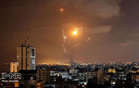 جنگندههای رژیم صهیونیستی برج «الجلاء» را در غزه منهدم کردند