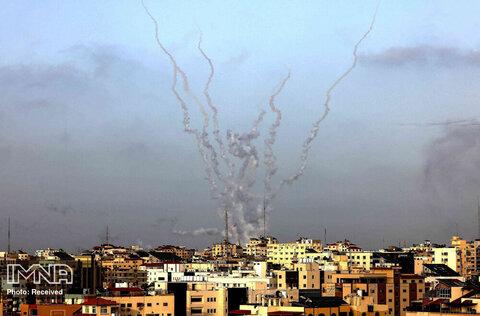 ادامه درگیری ها در فلسطین
