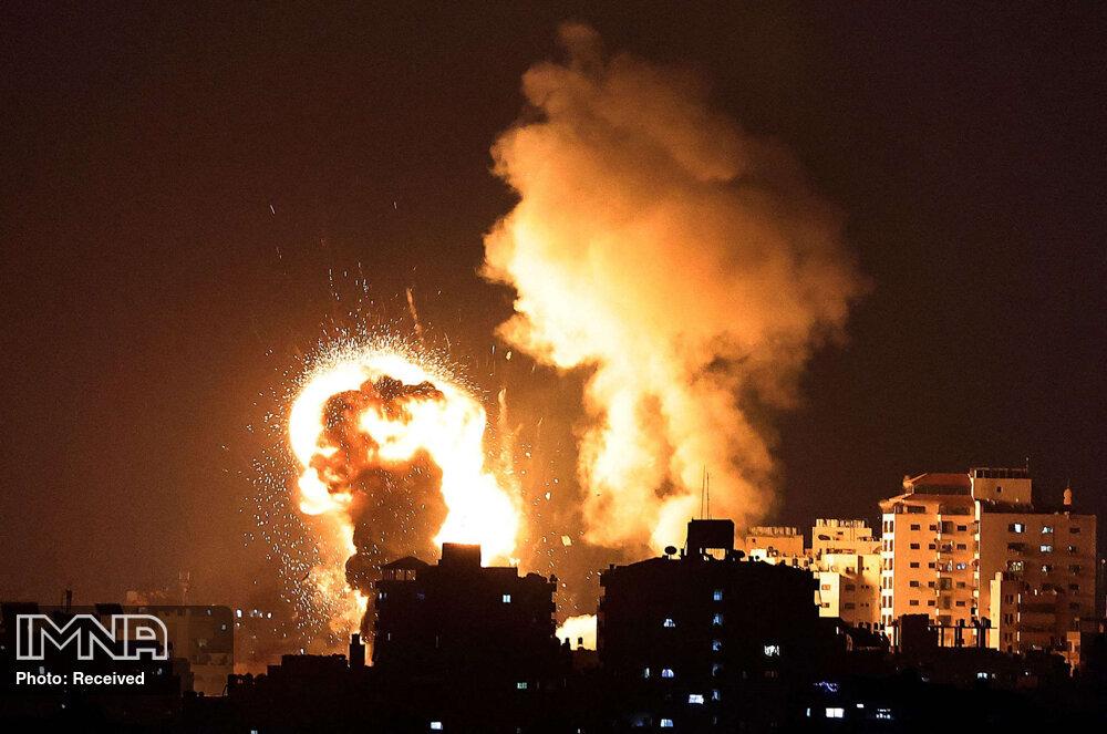 افزایش تعداد شهدای غزه به ۱۷۴ نفر