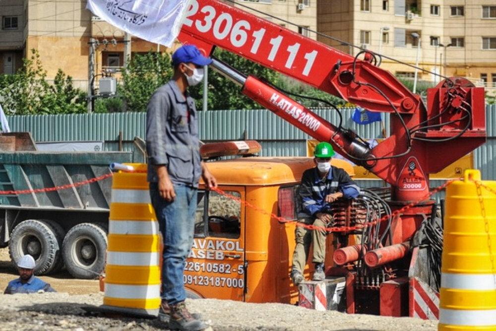 عملیات احداث نخستین قطعه از بلندترین خط متروی کشور آغاز شد