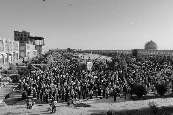 نماز عید فطر در میدان نقش جهان