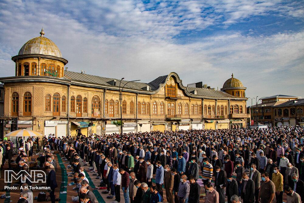 نماز عید سعید فطر در همدان