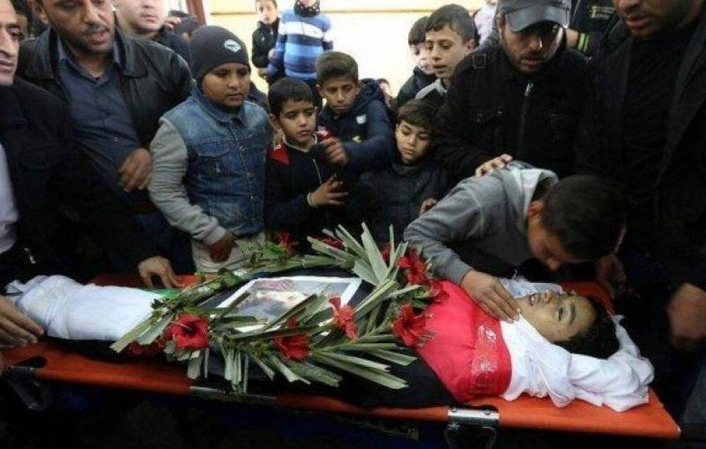 جان باختن ۲۸ کودک در حملات رژیم صهیونیستی به نوار غزه