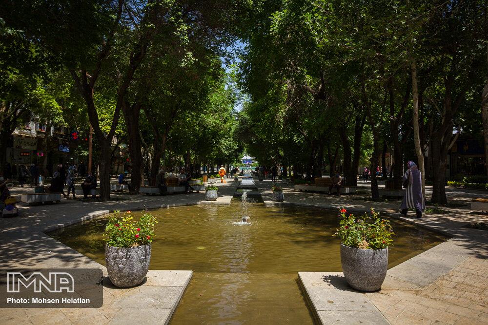 هوای اصفهان کمی خنک میشود