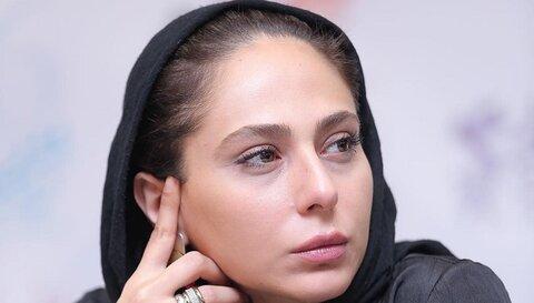 """اولین تصویر رعنا آزادی ور در سریال """"زخم کاری"""""""