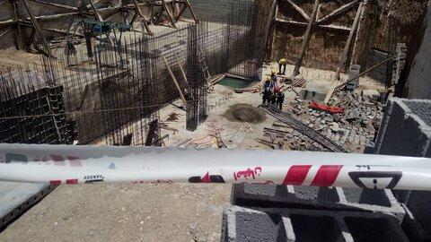 حادثه ریزش آوار در ورامین / ٢ کارگر حاضر در محل مصدوم شدند