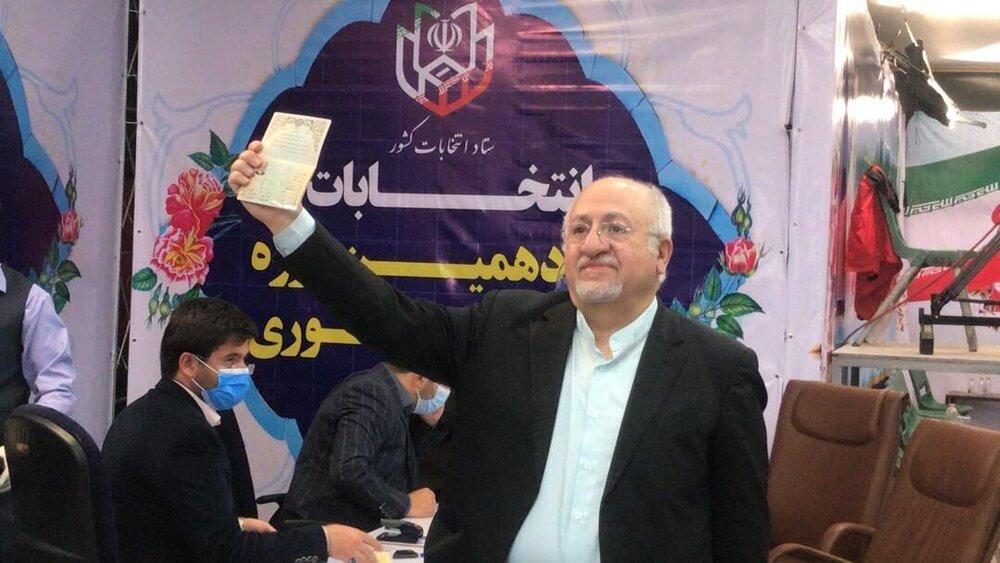 حق شناس: مستقل وارد انتخابات شدهام
