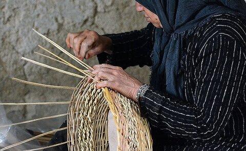 سبدبافی میراث کهن زنان باغبادران/ هنرهای سنتی در ورطه فراموشی