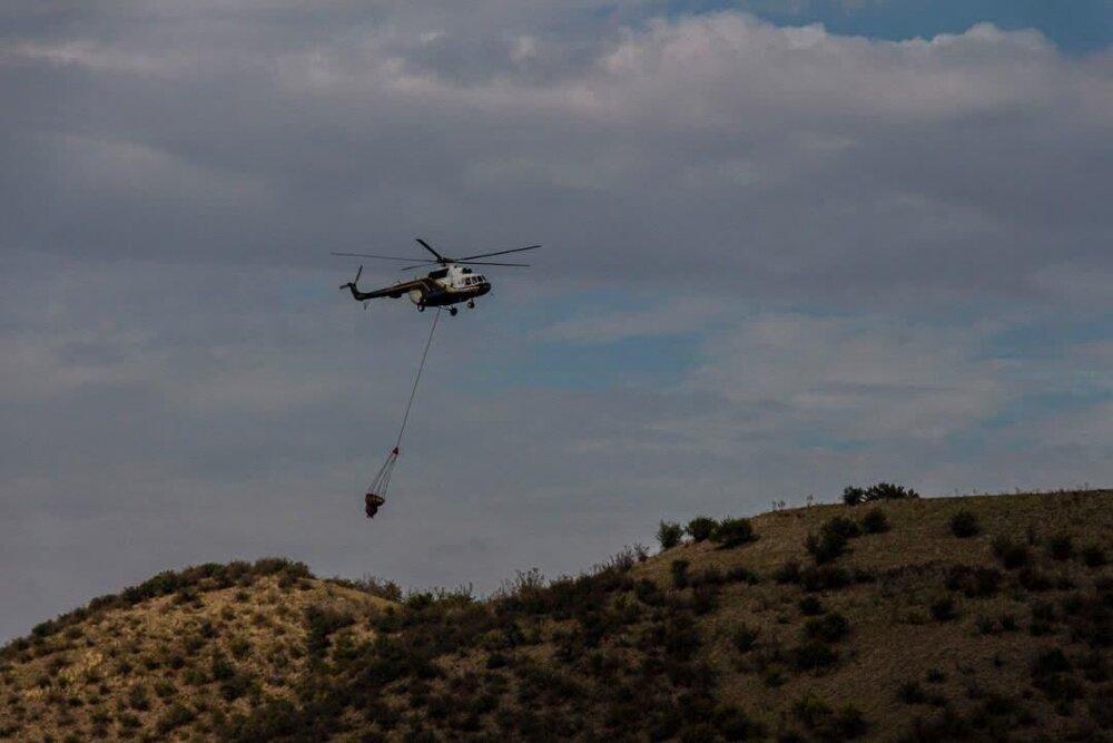 آمادگی کامل وزارت دفاع برای کمک به اطفای حریق هوایی جنگلهای کشور