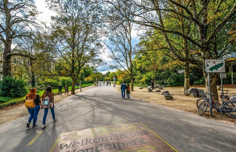 تلاش آمستردام برای بهبود وضعیت فضاهای سبز