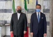 وزیران خارجه ایران و ایتالیا دیدار کردند