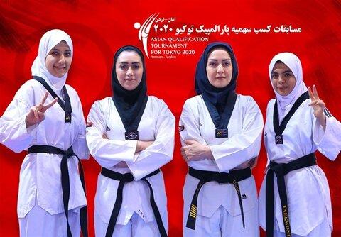 برای کسب سهمیه پاراتکواندو توکیو؛ اعزام دختران پاراتکواندو ایران به اردن