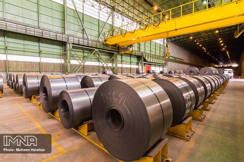 فولادسازان اصفهانی در بین ۵۰ تولید کننده بزرگ فولاد جهان در سال ۲۰۲۰