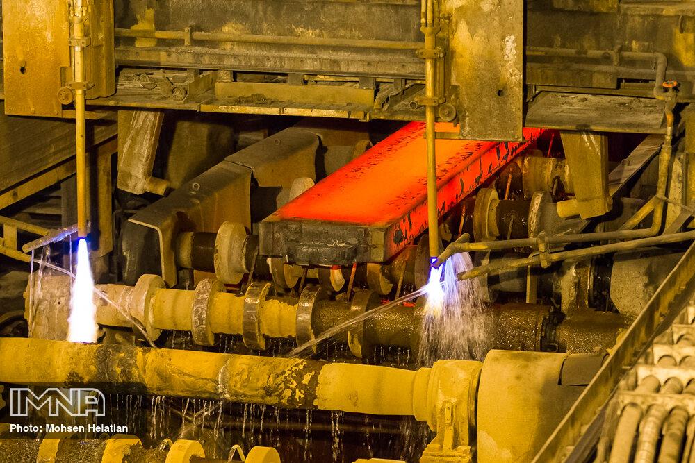 بازده کیفی محصولات فولاد مبارکه بیشتر از نمونه خارجی است