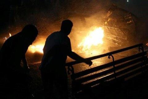 انفجار و حریق هولناک در کارگاه غیرمجاز سوخت گیری گاز LPG شیراز