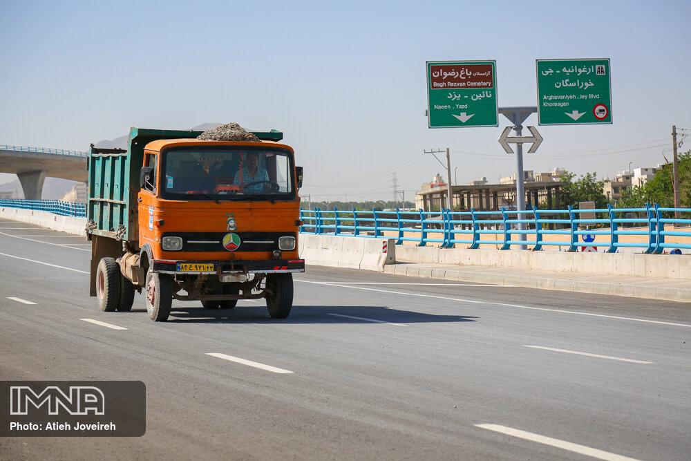 ایمنسازی پروژه پل شهید سلیمانی انجام شده است