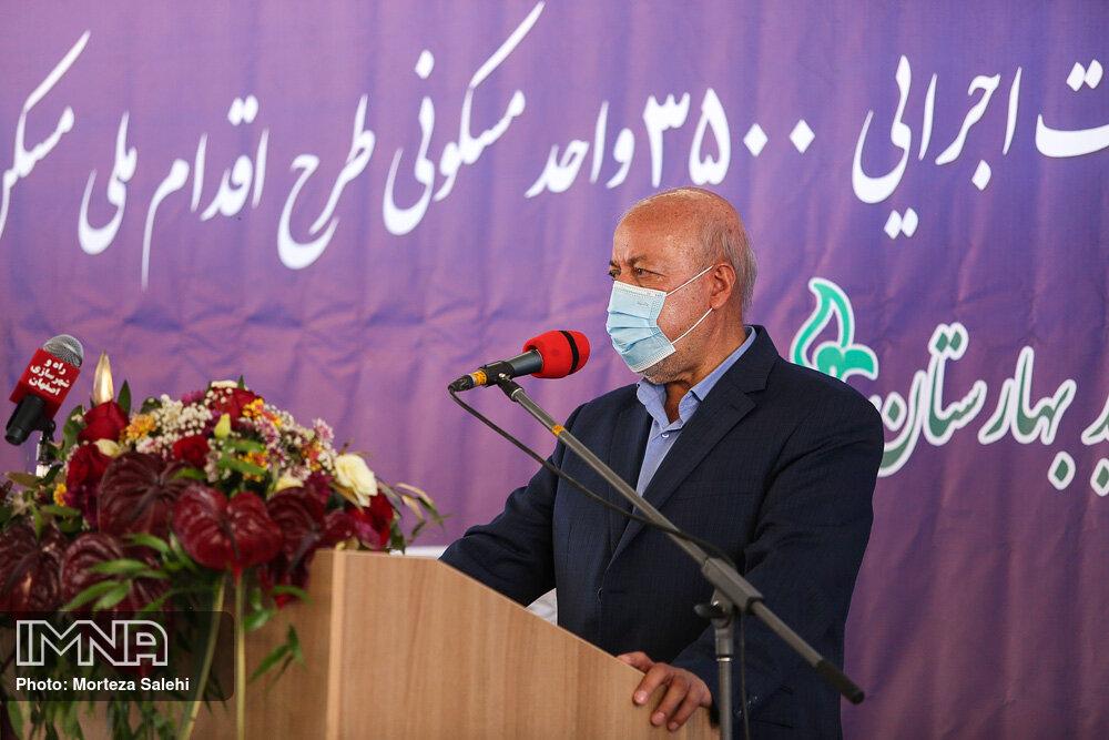 اجرای پروژههای بزرگ و کوچک عمرانی اصفهان در دوره های بعد هم ادامه یابد