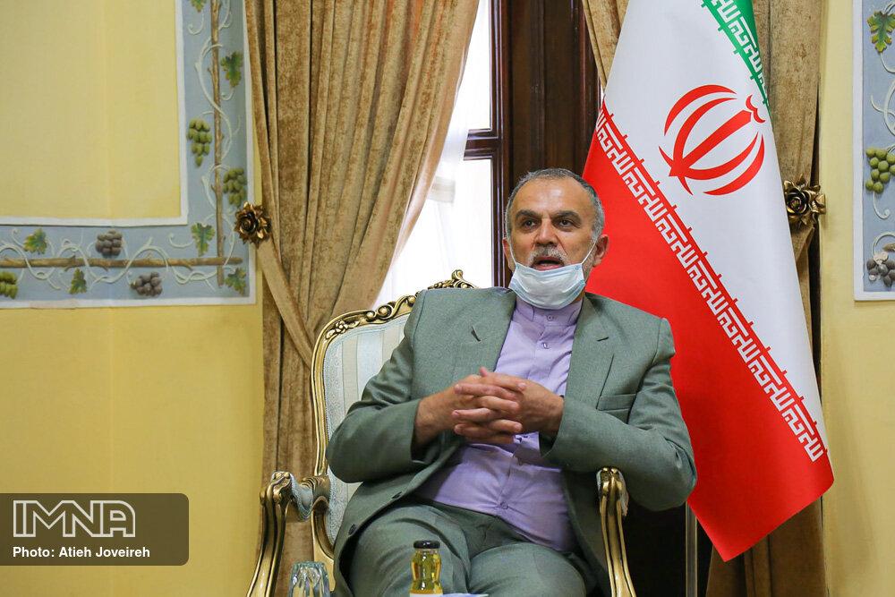 وزارت خارجه از کمک به فعالان بخش خصوصی اصفهان دریغ نخواهد کرد