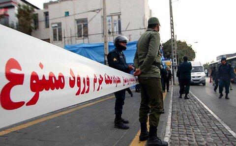 جنازه زن تهرانی در پیاده رو کشف شد+عکس