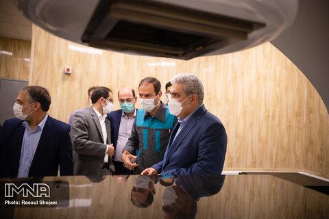 سفر معاون علمی و فناوری رئیس جمهور به اصفهان